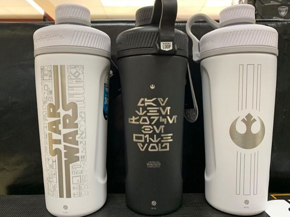 Arkansas Fitness Equipment | Drinks 2 - Star Wars Cups